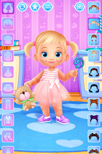 toddler dress up - girls games screenshot 2