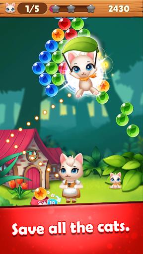 Bubble Shooter Cats POP : Puzzle Mania 1.1.3 screenshots 4