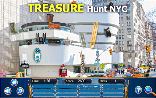Hidden Objects New York City Puzzle Object Game  screenshots 3