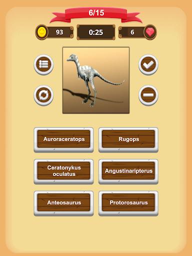 Dinosaurs Quiz 1.9.0 screenshots 14