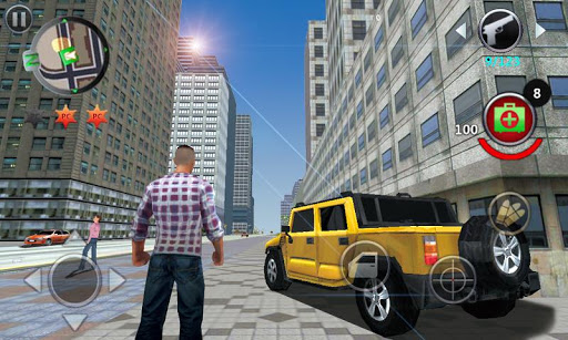 Télécharger Grand Gangsters 3D APK MOD (Astuce) screenshots 1