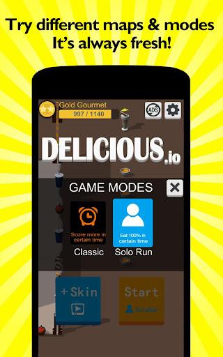 Code Triche Delicious.io apk mod screenshots 2