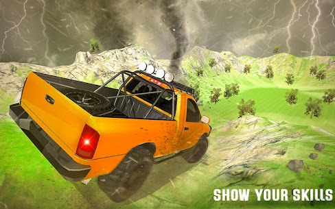 Tornado Chase Drive: Offroad Jeep Adventure 1.2 Mod + APK + Data [UPDATED] 1