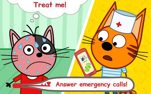 Kid-E-Cats Animal Doctor Games for Kidsu30fbPet Doctor  screenshots 14
