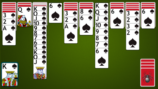 Spider Solitaire 4.8.2 screenshots 1