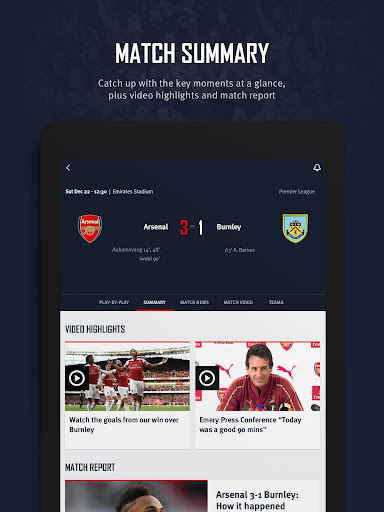 Arsenal Official App 6.0.3 Screenshots 16