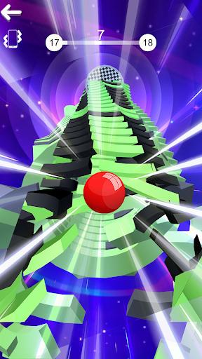 Color Stack Ball 3D: Ball Game run race 3D - Helix 8 screenshots 1