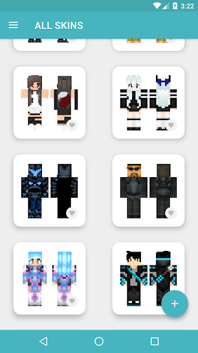 HD Skins for Minecraft PE (128x128) android2mod screenshots 14