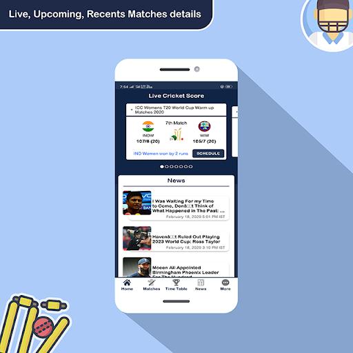 Live Cricket Score - IPL Live Match Score  screenshots 3