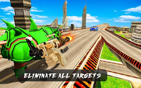 Rhino Robot Car Transformation 2020. 0.2 (MOD + APK) Download 1