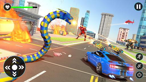 Anaconda Robot Car Games: Mega Robot Games 1.9 screenshots 2