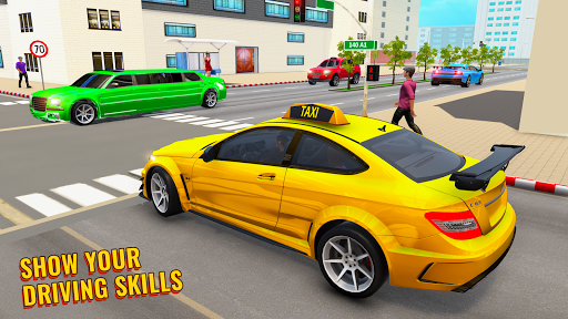 City Taxi Driving Simulator: Taxi Games 2020 apktram screenshots 4