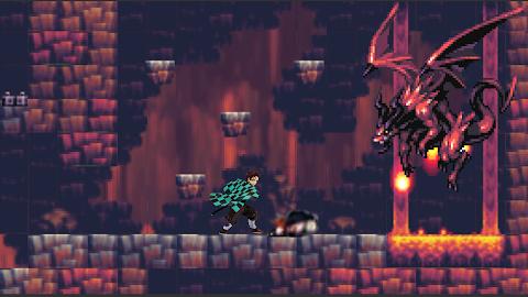 Tanjiro Game: Pixel Adventureのおすすめ画像2