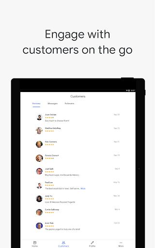 Google My Business - Connect with your Customers 3.33.0.346655744 Screenshots 13