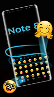 Keyboard theme for Galaxy Note8