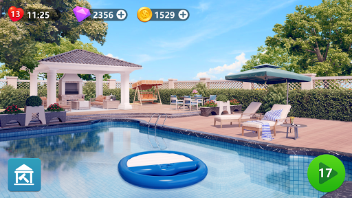 Makeover Master: Tile Connect & Home Design Apkfinish screenshots 10