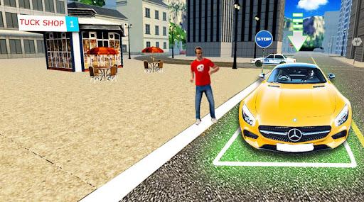 car parking : real car driving school simulator screenshot 1