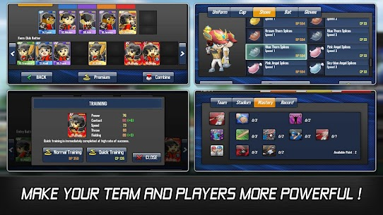 Baseball Star Mod APK – Unlimited BP, CP & Unlimited Money 5