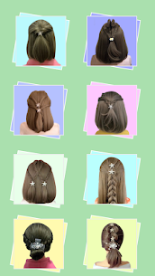 Hairstyles for short hair Girls 3