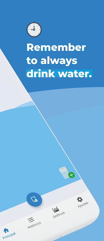 Water Drink Reminder and Alarm  poster 1
