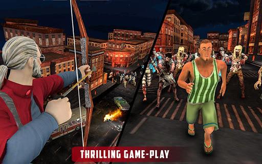 Archer Hunting Zombie City Last Battle 3D modavailable screenshots 9