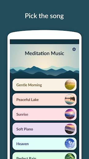 Meditation Music - Relax, Yoga  screenshots 1