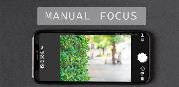 Manual Professional Camera 2020 APK [Paid] 1