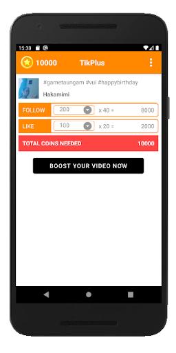 TikPlus: real fans, likes & followers for TikToker 1.0.39 Screenshots 2
