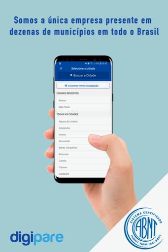 digipare: blue zone parking - mobile pay screenshot 2