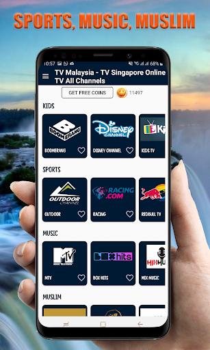 TV Indonesia Online - TV Malaysia TV Singapore 26.0 Screenshots 3