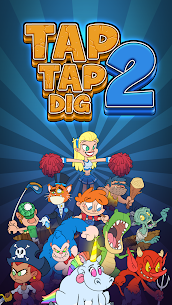 Tap Tap Dig 2: Idle Mine Sim Mod Apk 0.5.0 (Money/Gems is Increasing) 1