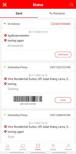J&T Malaysia 1.7.2 Screenshots 3