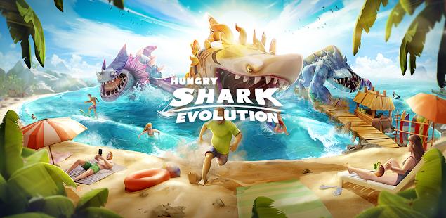 hungry shark evolution - offline survival game hack