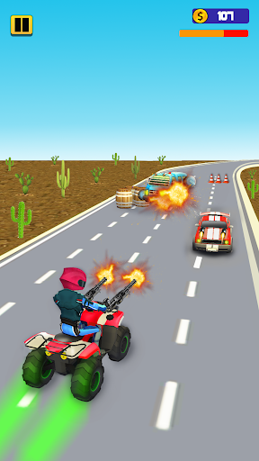 Quad Bike Traffic Shooting Games 2020: Bike Games 3.1 screenshots 3