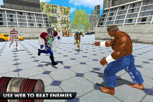 Black Monster Hero Crime City Battle 1.9 screenshots 5