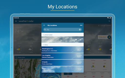 Weather & Radar - Storm radar apktram screenshots 16