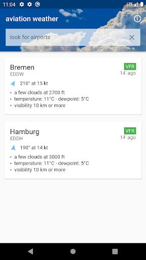 Aviation weather - METAR & TAF 3.0.48 Screenshots 1