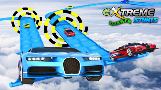 Extreme Car Driving - GT Racing Car Stunts Race 3D 1.0 screenshots 4