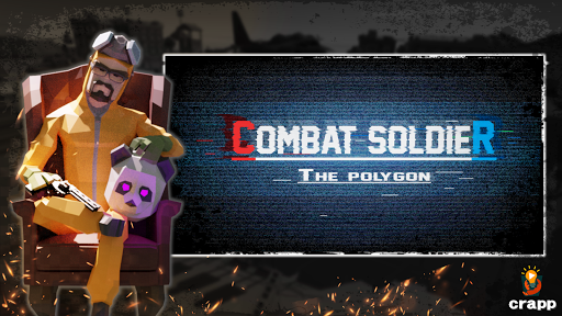 Combat Soldier - The Polygon modiapk screenshots 1