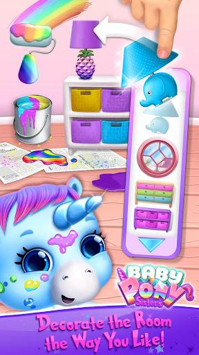 Baby Pony Sisters - Virtual Pet Care & Horse Nanny 5.0.14007 screenshots 7