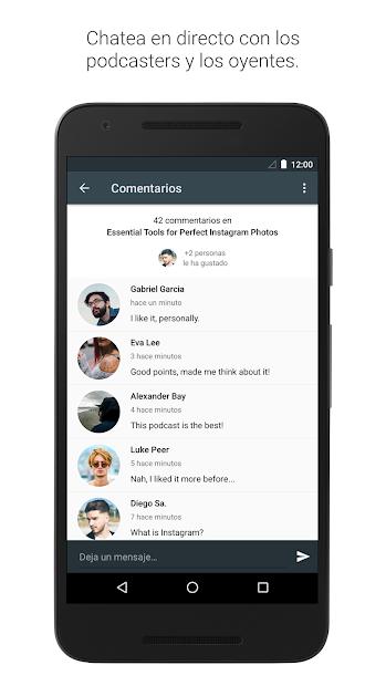 Captura de Pantalla 6 de Spreaker Podcast Player - Escucha podcasts gratis para android