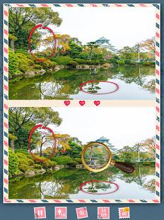 Find the Differences Japan - Scavenger Hunt Levels