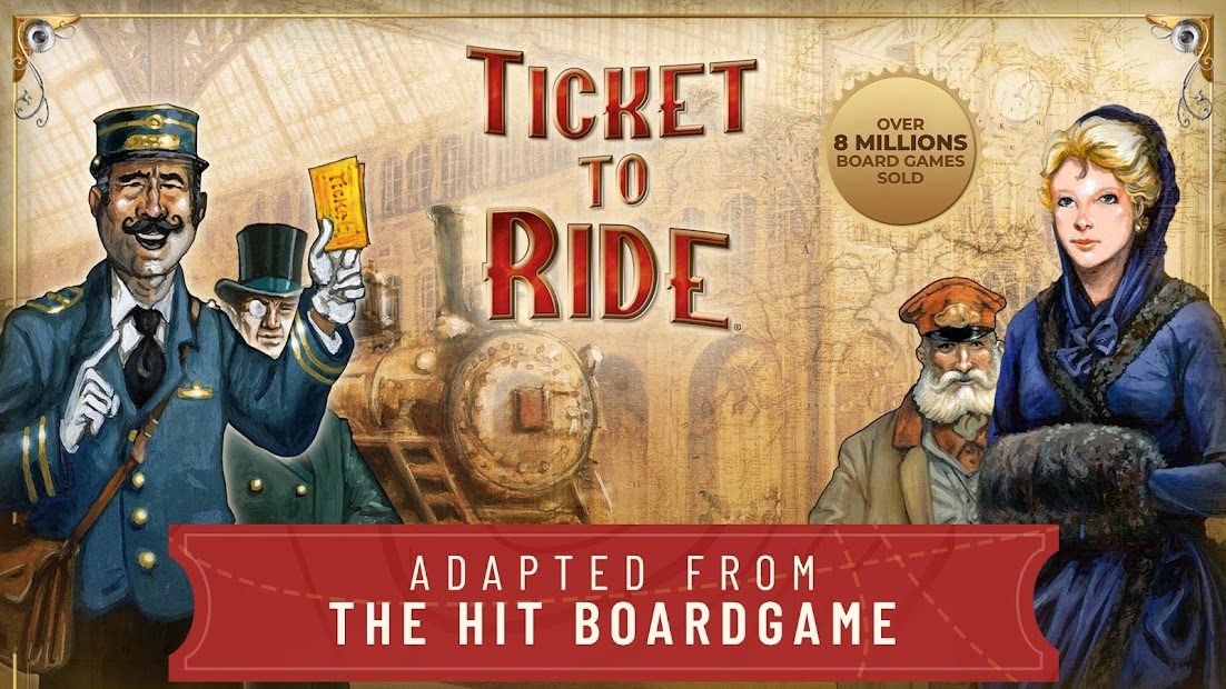 Ticket to Ride Android App Screenshot