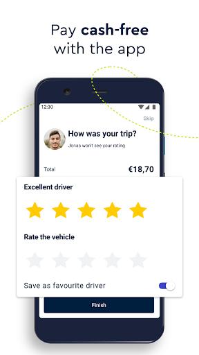 FREE NOW (mytaxi) - Taxi Booking App Apkfinish screenshots 5