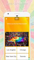 screenshot of LGBT+ Amino Community and Chat