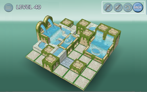 Flow Water Fountain 3D Puzzle 1.2 Screenshots 15