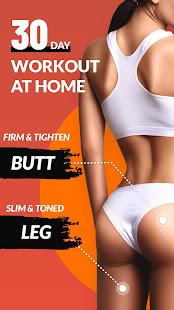 Butt & Leg Workouts - 30 Day Buttocks Workout 1.0.8 Screenshots 1