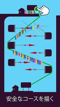Zipline Valley -物理パズルゲームのおすすめ画像3