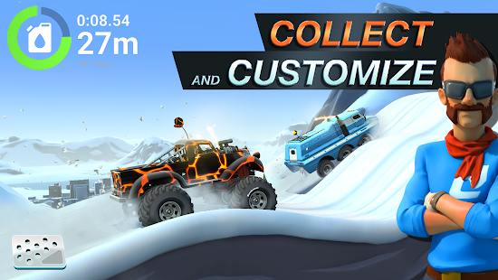 MMX Hill Dash 2 – Offroad Truck, Car & Bike Racing Screenshot