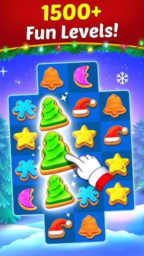 Christmas Cookie - Santa Claus's Match 3 Adventure 3.1.6 screenshots 1